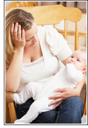 Depression in Mothers Goes Untreated
