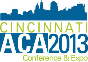 ACA Conference 2013 Logo - Cincinnati Skyline