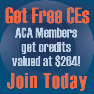 ACA Members Get $264 of Free CE
