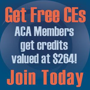ACA Members Get $264 of Free CE
