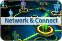 Network & Connect Icon