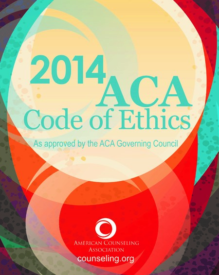 2014 ACA Code of Ethics